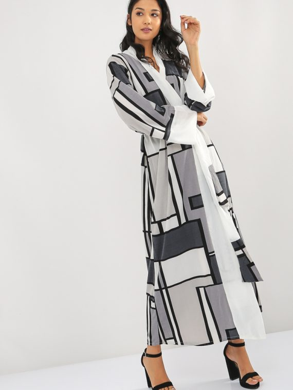 Abstract Print Abaya-MAHA ABAYAS