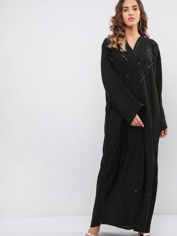 Beaded Abaya-MAHA ABAYAS