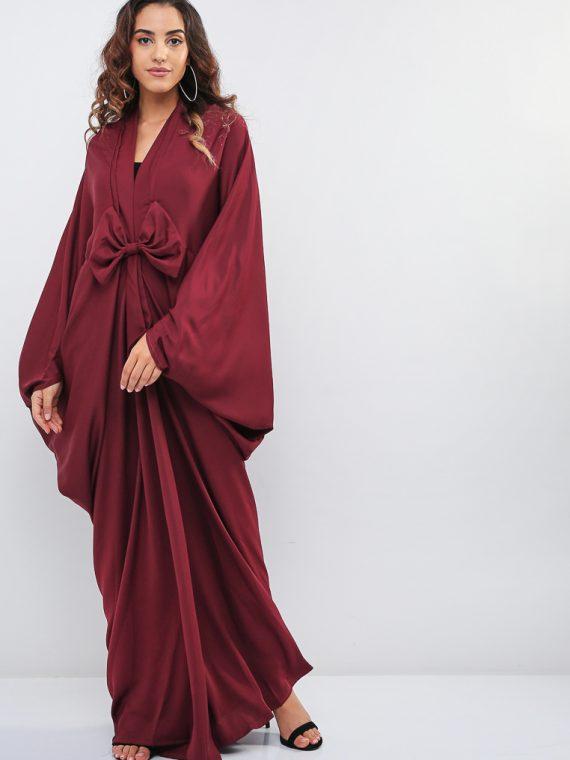 Bow Detail Abaya-MAHA ABAYAS