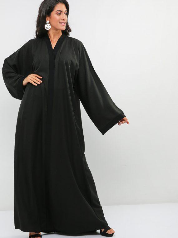 Classic Black Abaya-Haya