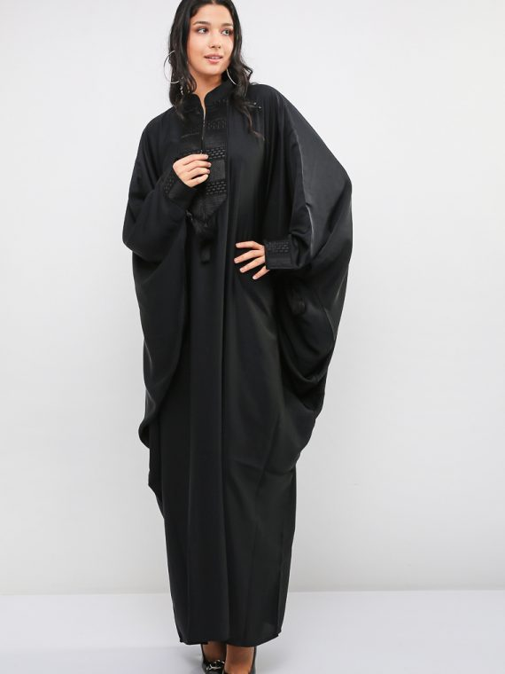 Embroidered Abaya-MAHA ABAYAS