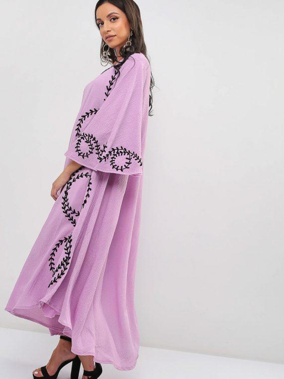 Embroidered Jalabiya-Sara Arabia
