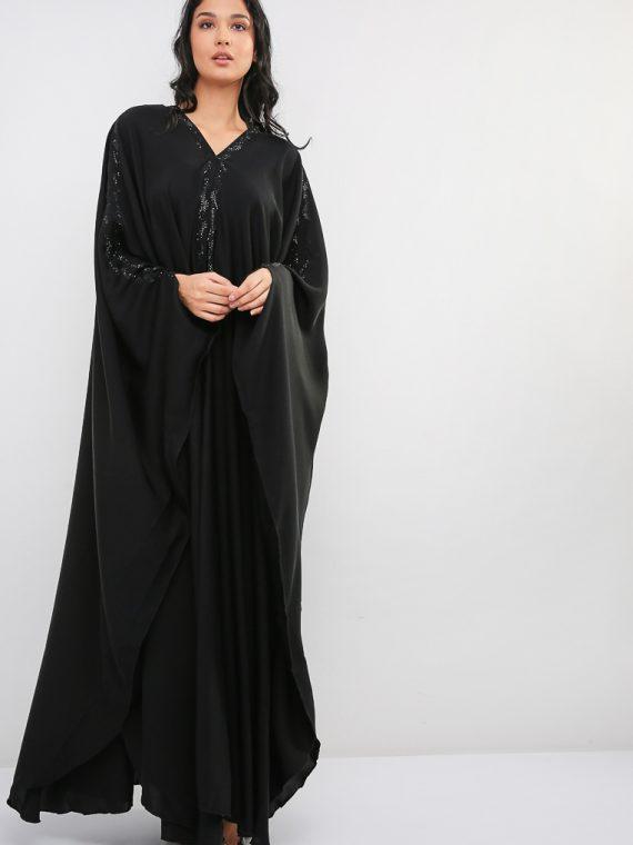 Farasha Cut Abaya-MAHA ABAYAS