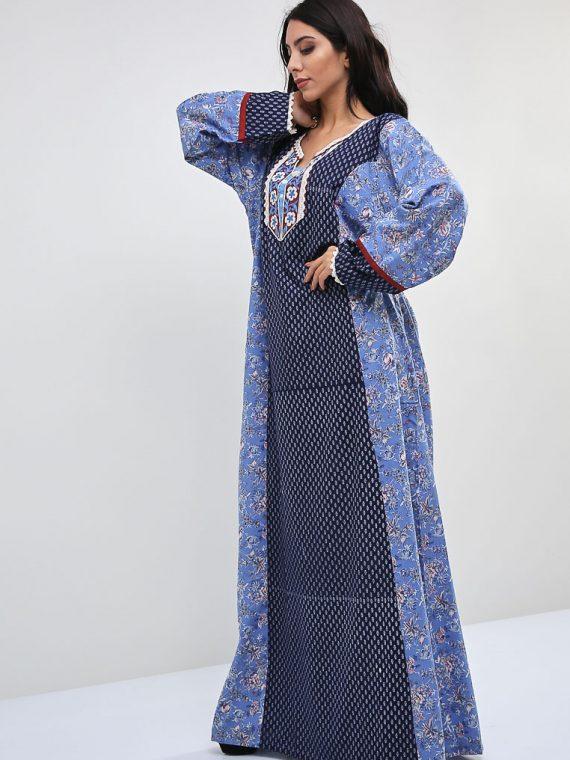 Floral Print Inspired Jalabiyas-Sara Arabia