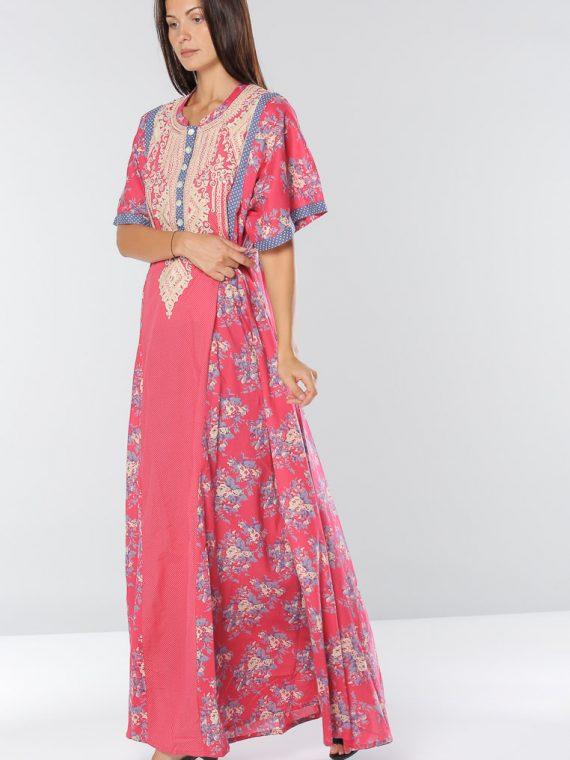 Floral Print Jalabiyas-Sara Arabia