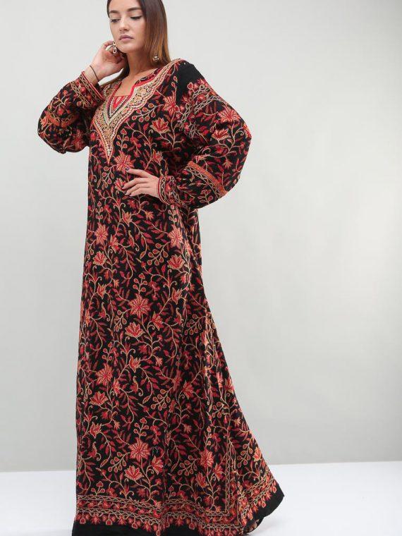 Floral Printed Jalabiyas-Sara Arabia