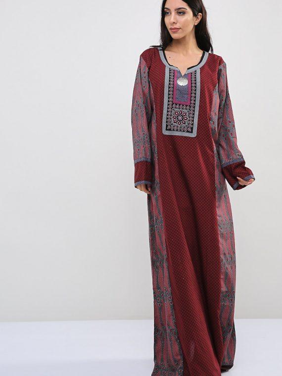Floral-Quatrefoil Inspired Jalabiyas-Sara Arabia