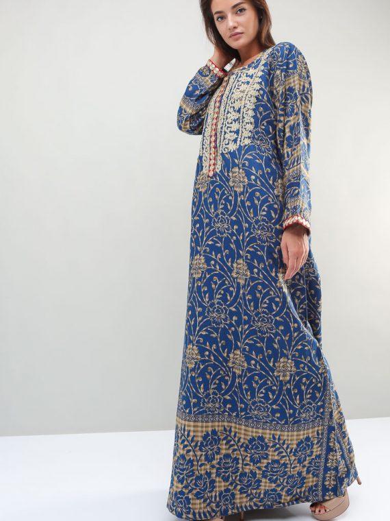 Jacobean Printed Jalabiyas-Sara Arabia