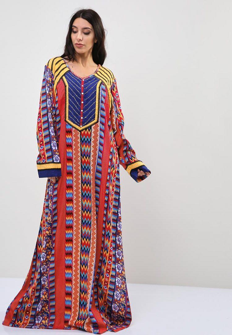 Mixed Print Inspired Jalabiyas-Sara Arabia