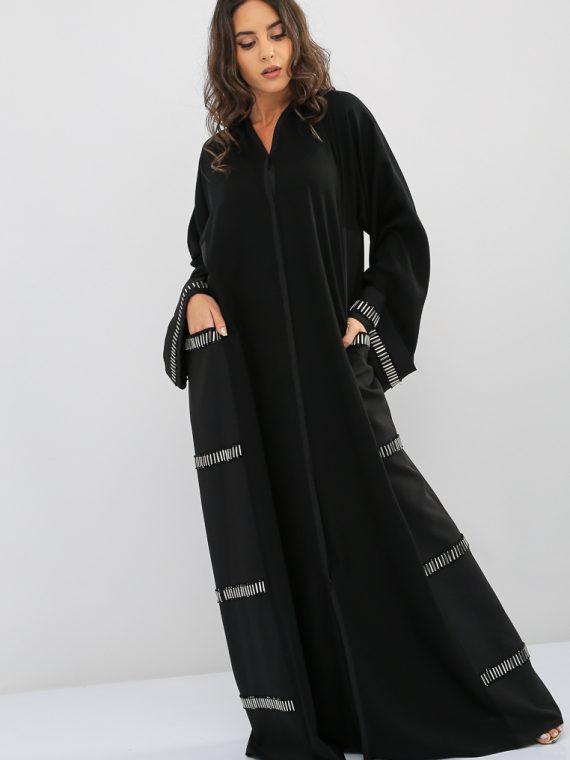 Pocket Lined Abaya-Nahala