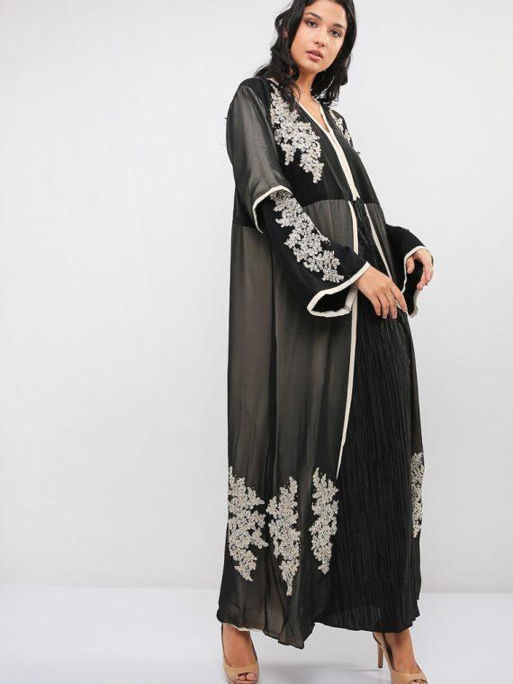 Premium Embellished Abaya-MAHA ABAYAS