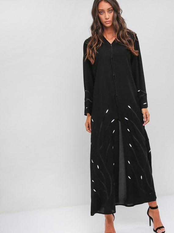 Sequin Embellished Abaya-Nahala