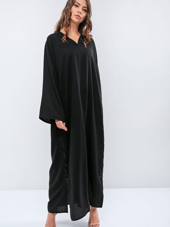 Wide Sleeve Abaya-Roza