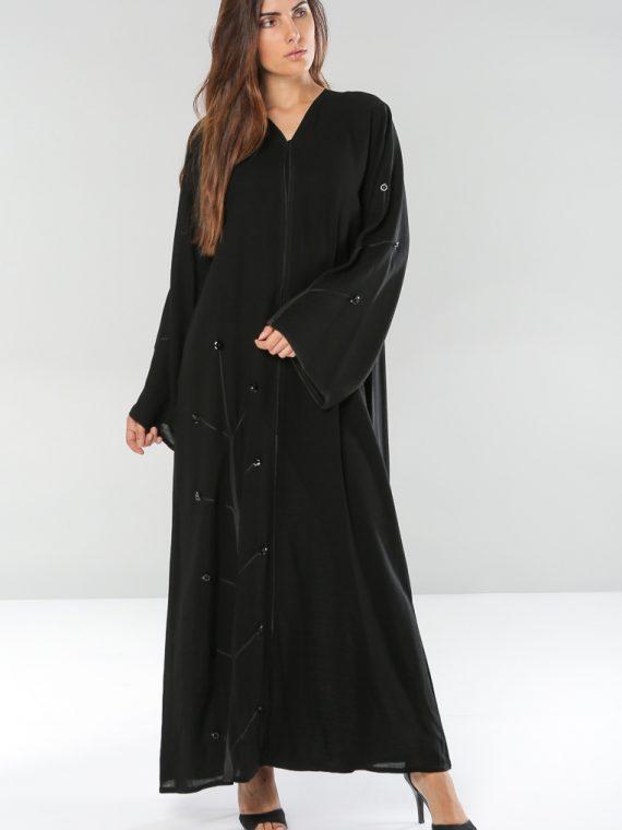 Wide Sleeves Abaya-Dubai Abaya