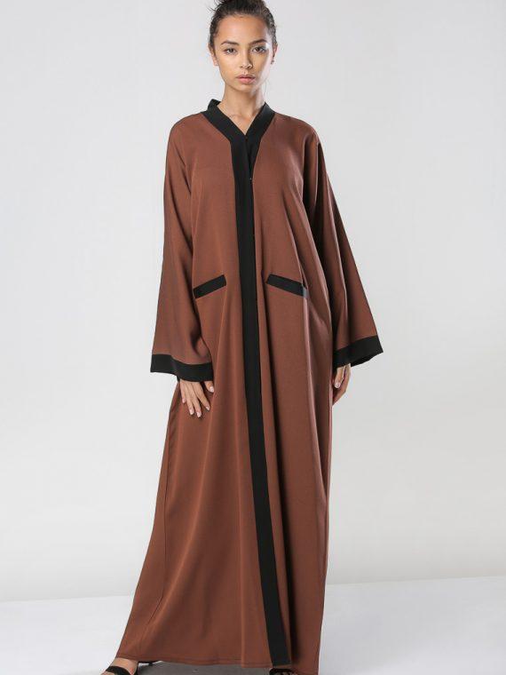Wide Sleeves Abaya-Haya