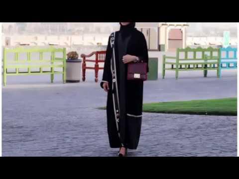 Modern abaya dress 2017 – Modern Abaya Designs