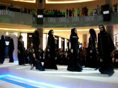 Sheila and Abaya Fashion Show, Dubai Mall