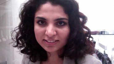 Abaya designer Homa Q at United Designers store launch in Dubai.
