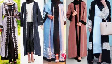Open abaya | Open front abaya online | Open abaya fashion | Modern open abaya | Generation Y |