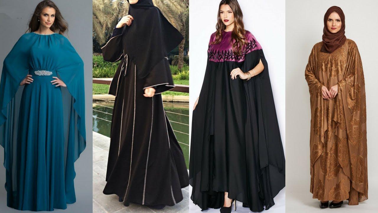 Latest & Stylish Cape Abaya Designs 2017 || Hijab Fashion Dress Designs || Burkas Dress Designs