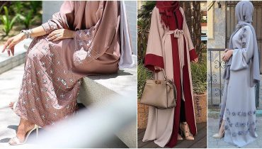 Dubai Rich Colorful Abaya Trend (Burqa) – 2018