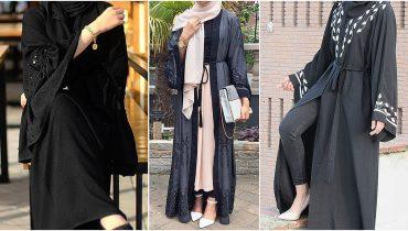 Dubai Latest Abaya Trend (Burqa) Designs For Young Adults – 2018