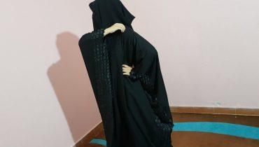 Abaya Designs #65 – Black Simple Stylish Abaya | Simple Abaya Style | Abayas Trends Simple 2018