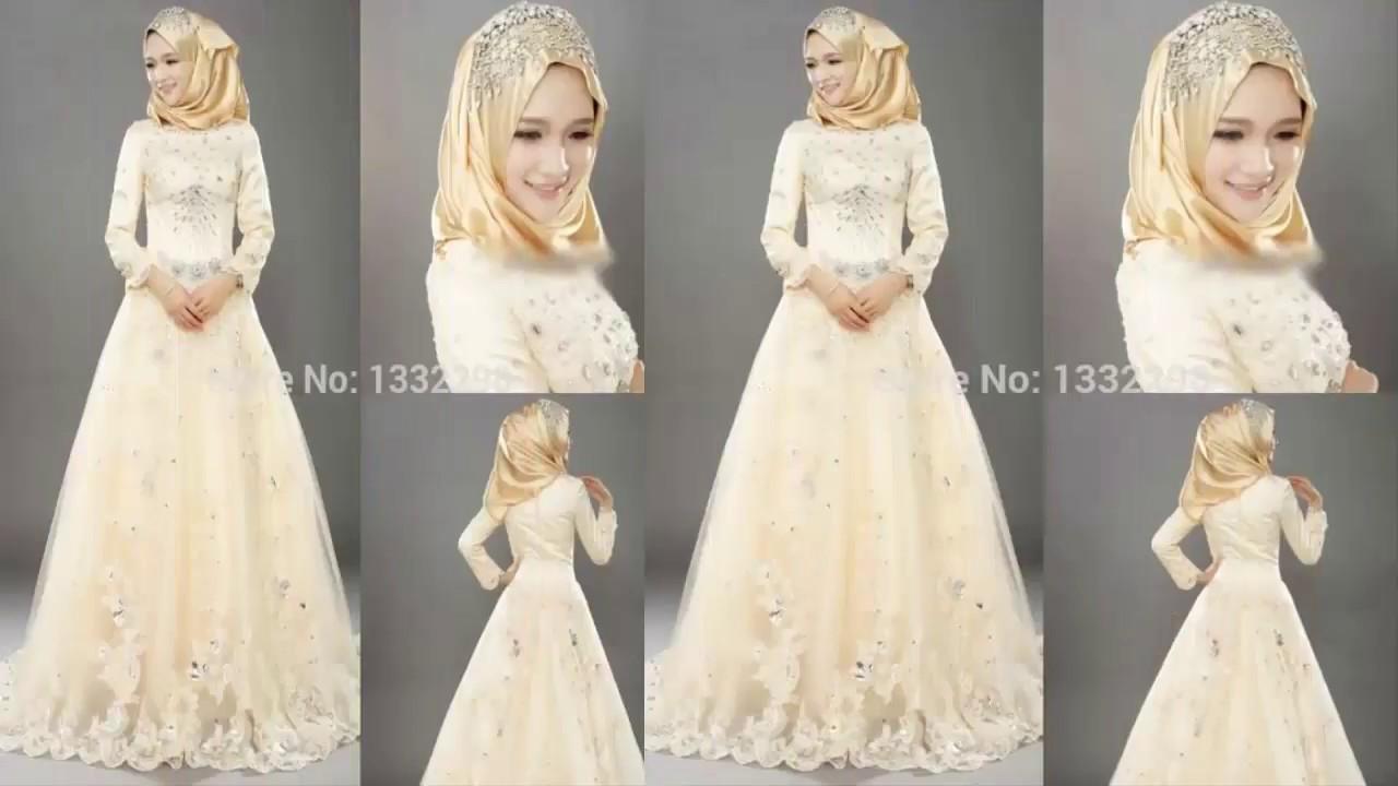 Latest Designer Wedding Abaya Dresses for Girls 2017