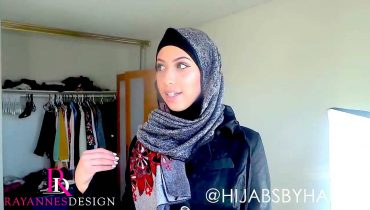 How to Style Your Hijab for a day or night Abaya outifit
