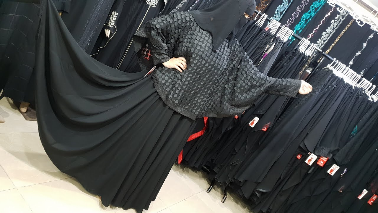 Abaya Designs #76 – Beauty Fairy Panel Umbrella Abaya   Trends Panel Abaya 2018   Panel Designer