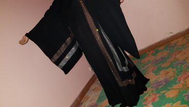 Abaya Designs #38 – Stylish Abayas Style | trends for Ireland Girls | Black & Pearls Designer 2018