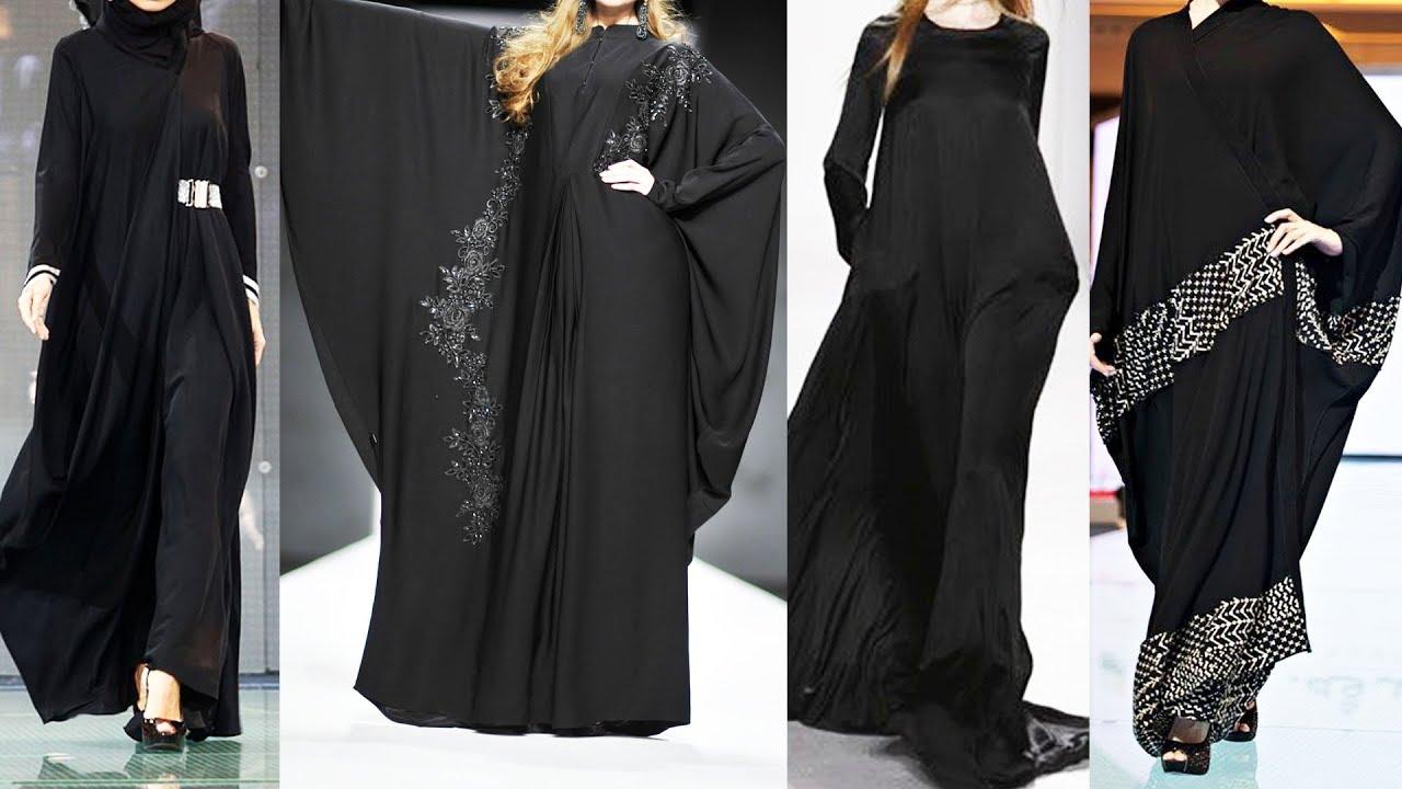 Black Abaya fashion show | Aabaya fashion show | Abaya fashion france | Latest abaya fashion |