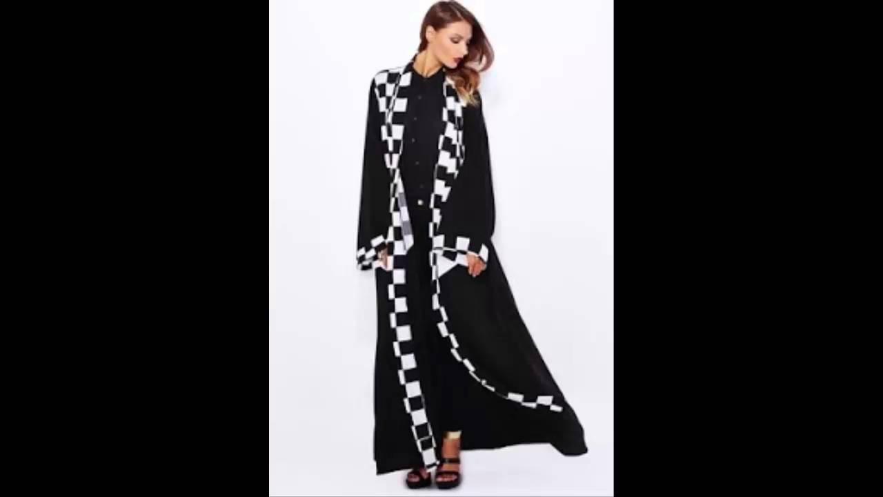 Arab Fashion – احدث عبايات خليجية 2015 – 2016 – New Abaya – Arab Fashion