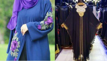 Latest and stylish abaya designs,Abaya designs 2018,abaya,abaya and gown,abaya and hijab,