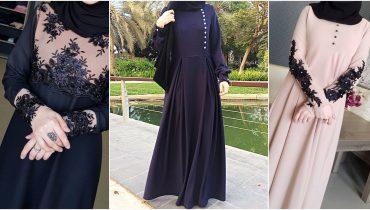 Dubai Umbrella Cut Abaya (Burqa) Designs – 2018