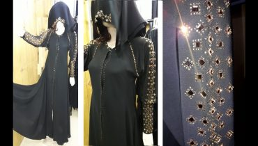 Stylish & golden pearl Abaya Designs ! umbrella ! Arabic Hijab video hd