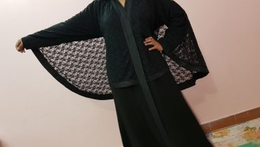 Abaya Designs #40 – Black Fairy Abaya Style | Black Net & Nida Fabric | Trends for Girls 2018