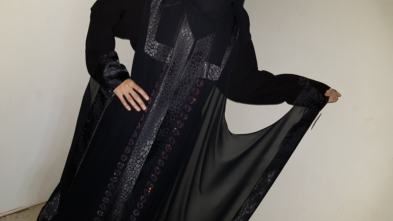 Abaya Designs #34 – Dubai Trends Abayas | Dubai Abayas 2018 | Dubai Fancy Abaya For Girls