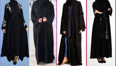 Black open abaya | Open abaya designs | Best black open abaya designs | Generation Y | Abaya |