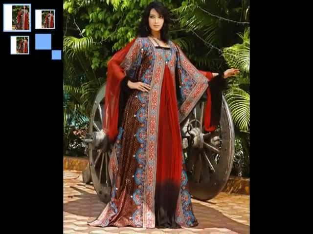 Arabic Dress Fashion-autumn from the east inspired abaya fall scent fashion of the gulf