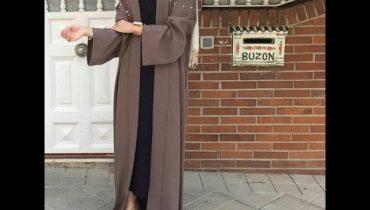 تصاميم عبايات راقية – احدث موديلات عبايات فخمة Modern abaya dress 2017 – abaya fashion show