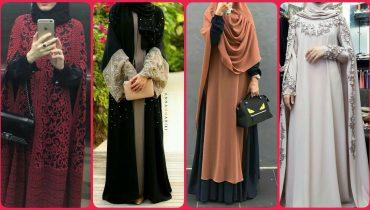 Latest And Stylish Hijab & Abaya Designs 2019