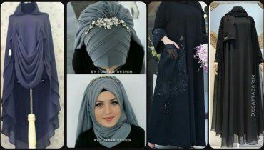 100+Designer Stylish Abaya Hijab Designs