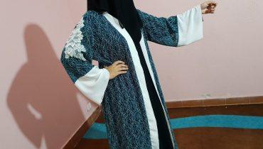 Abaya Designs #61 – Net Fabric Abaya Design   Trend Net Fabric Abayas Girls   Dubai Saudi Abaya 2018