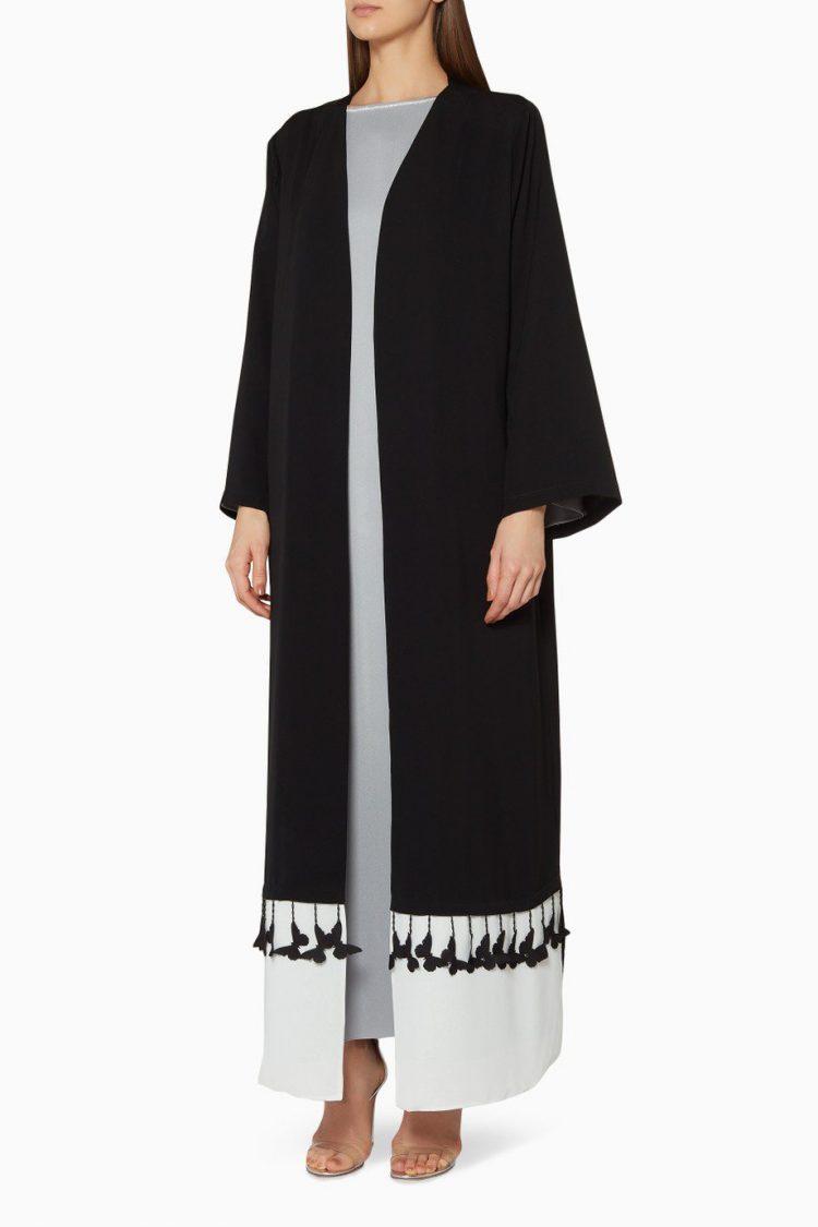 Black Swing Beauty Abaya-