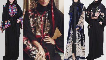 Dubai Top Designs Embroidered Abaya Collection/Dubai Abayas/Gulf Abaya Fasion