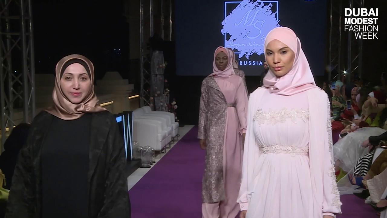 Mariyan Suleymanova – Dubai Modest Fashion Week 2019