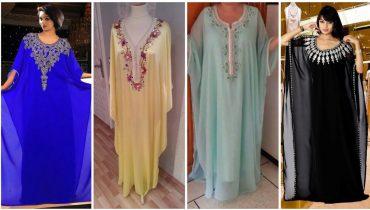 50 Best Wearable Long Abaya Caftan Designs 2019 Fashion Trend