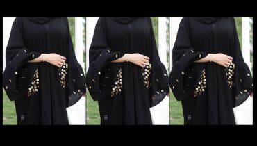 simple black abaya designs in dubai 2019