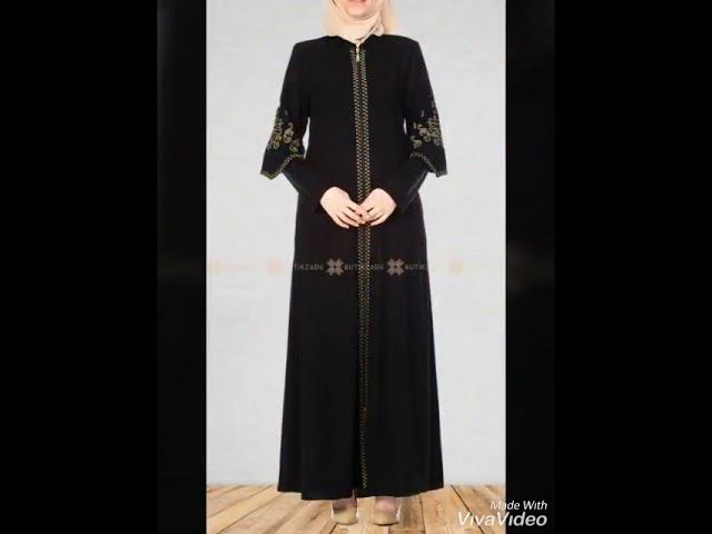 Latest Abaya style 2019.